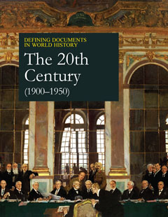 Defining Documents in World History: The 20th Cent