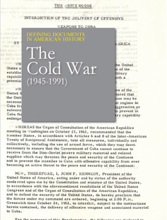 Defining Documents in American History: The Cold W