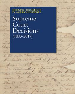 Defining Documents in American History: Supreme Co