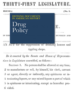Defining Documents in American History: Drug Polic