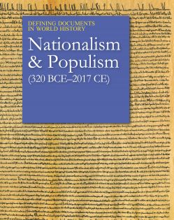 Defining Documents in World History: Nationalism a