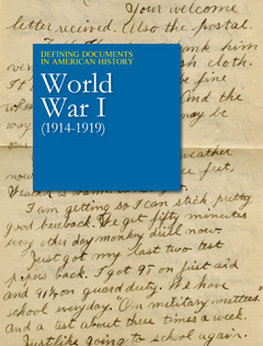 Defining Documents in American History: World War I (1914-1919)