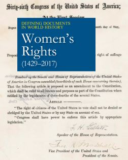 Defining Documents in World History: Women's Right