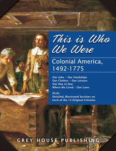 This is Who We Were: Colonial America, 1492-1775
