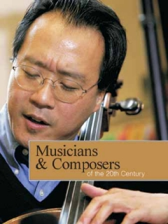Musicians and Composers of the Twentieth Century