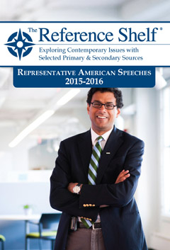 The Reference Shelf: Rep American Speeches 2015-20