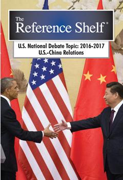 The Reference Shelf: U.S. Natl Debate Topic 2016-2