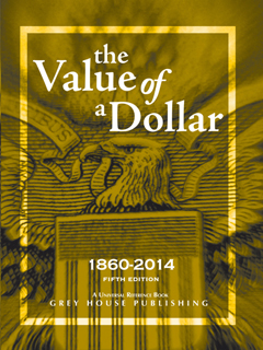 The Value of a Dollar, 1860–2014