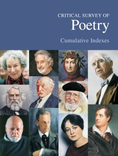 Critical Survey of Poetry: Cumulative Indexes